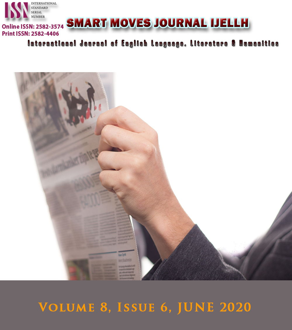 View Vol. 8 No. 6 (2020): Volume 8, Issue 6, June 2020