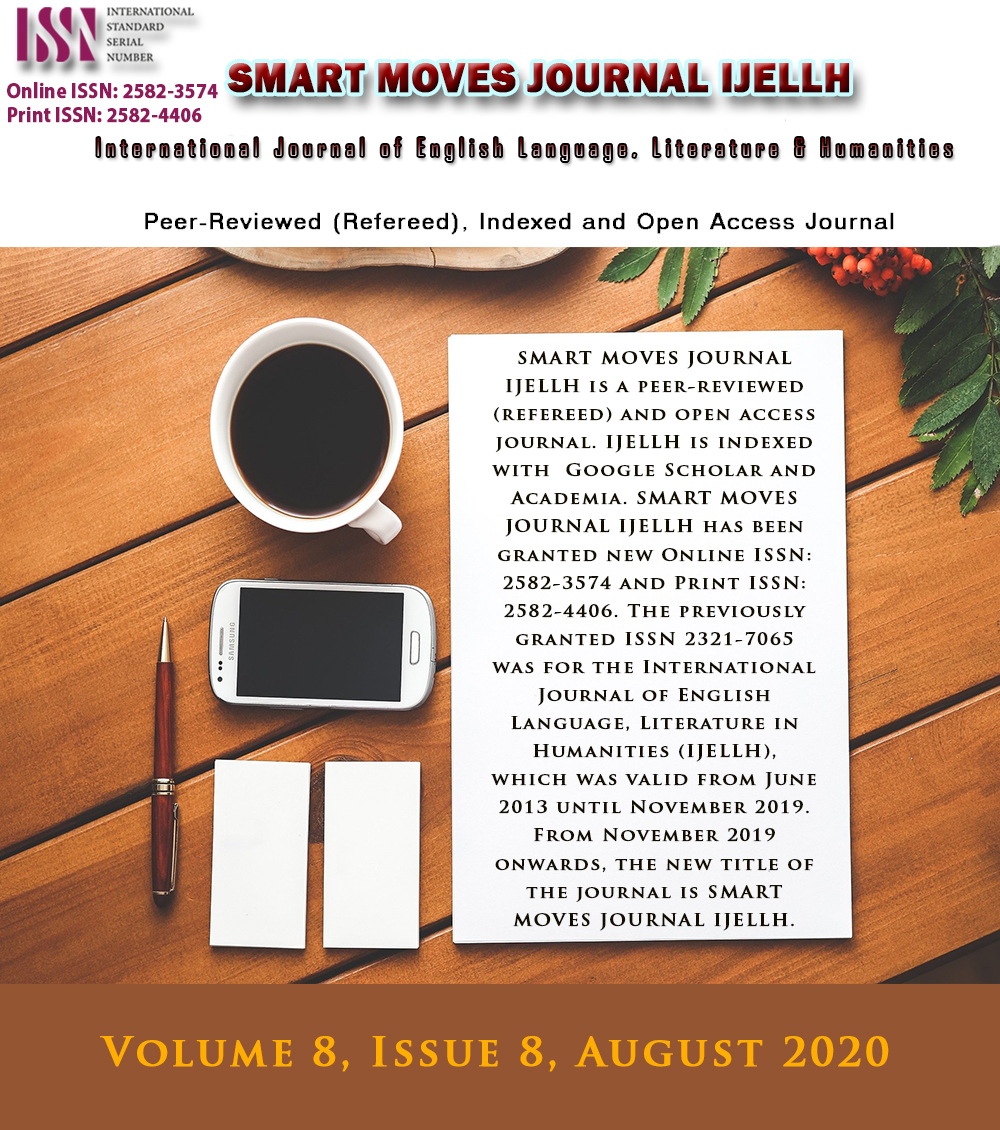 View Volume 8, Issue 8, August 2020