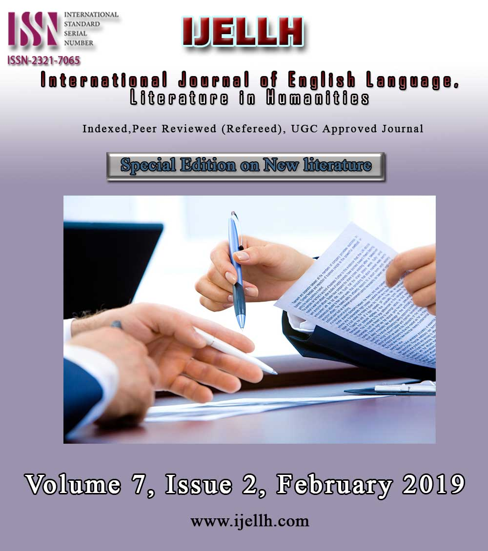 View Vol. 7 No. 2 (2019): Special Issue on New Literature