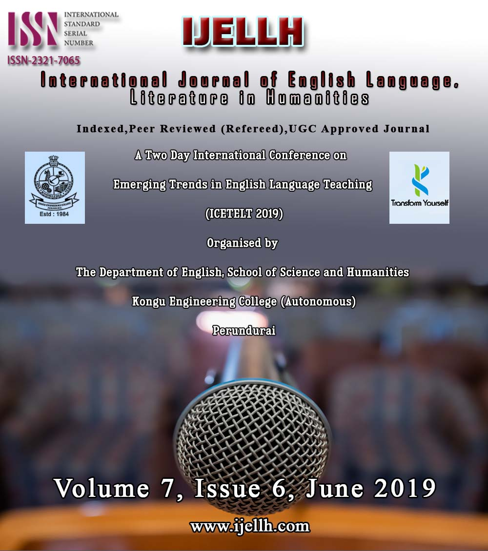 View Vol. 7 No. 5 (2019): Emerging Trends in English Language Teaching  (ICETELT 2019)
